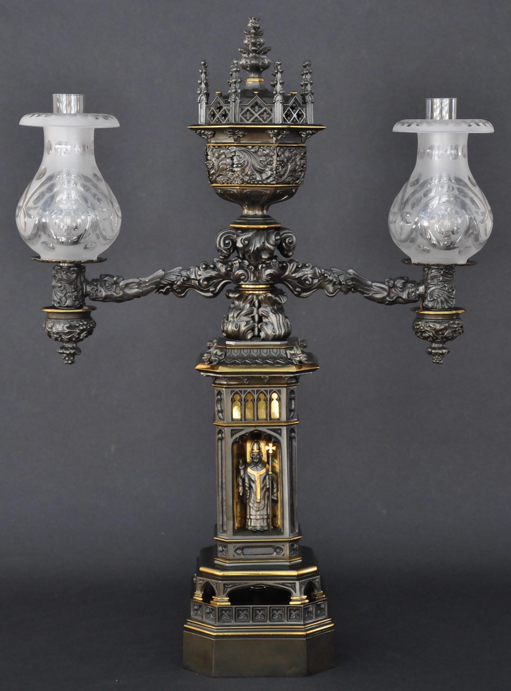 A Pair of Regency Candlesticks - Charles Clark