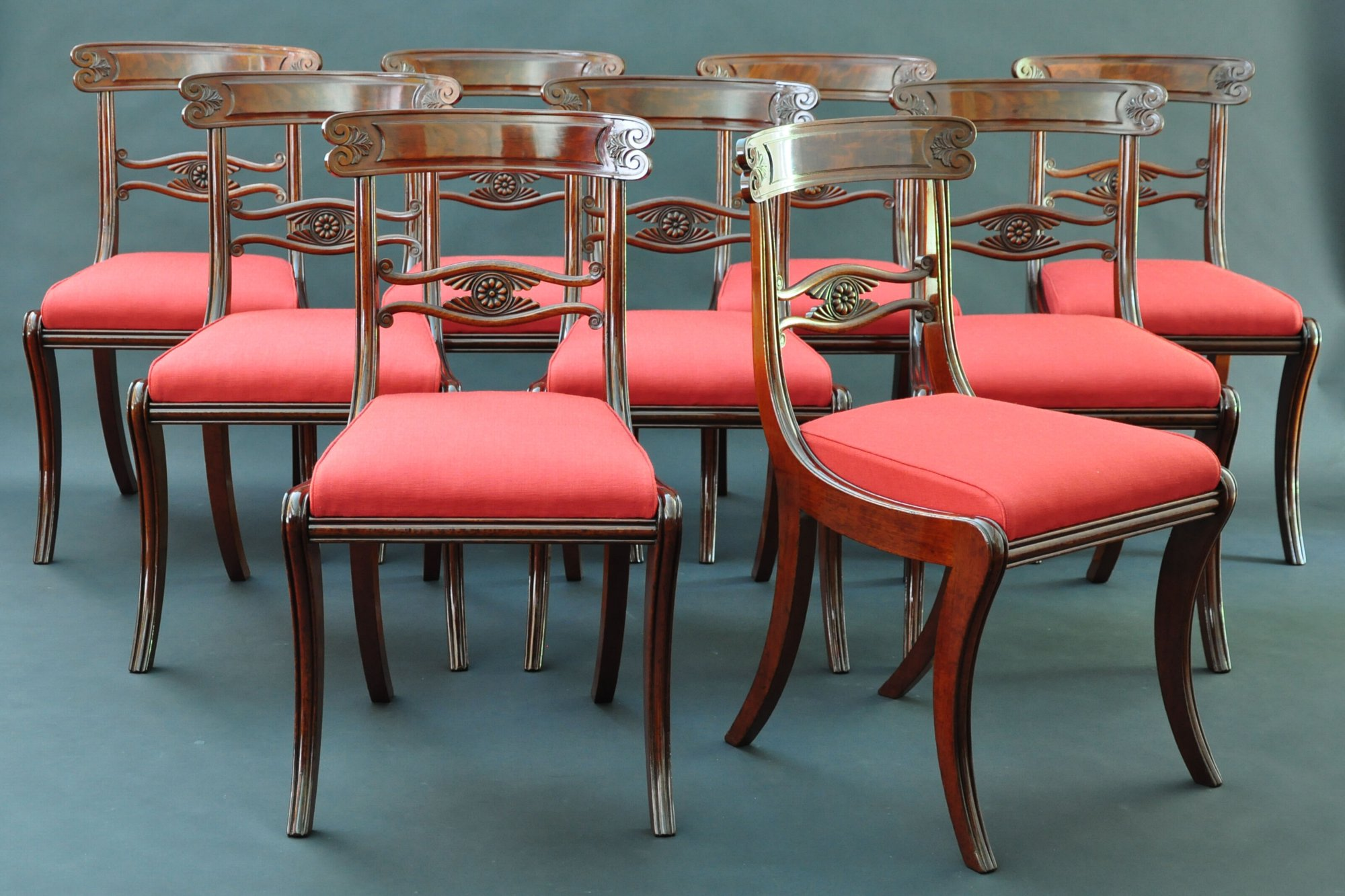 a set of classical chairs charles clark