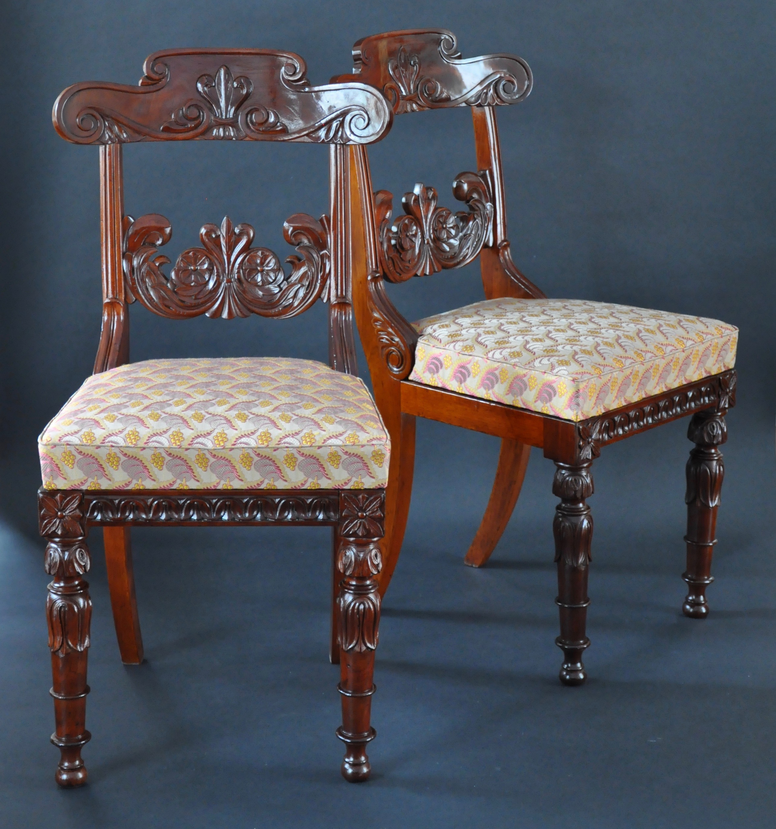 a pair of classical chairs charles clark
